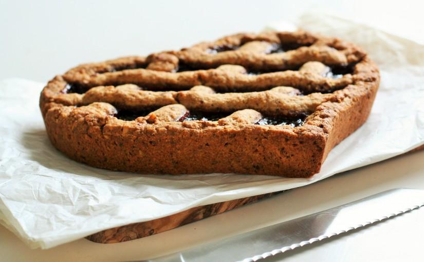 Linzer Torte recipe for Valentine's Day
