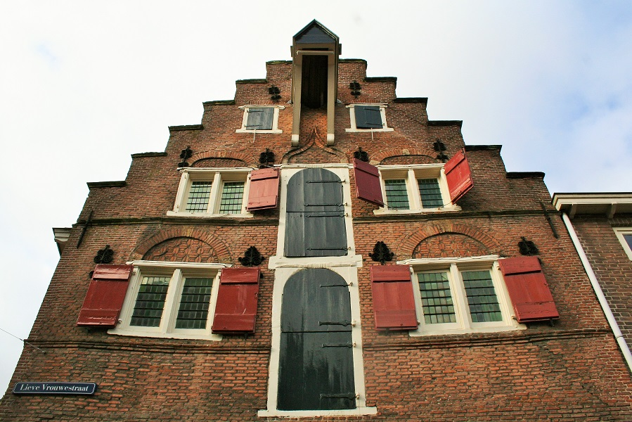 Medieval house in Holland