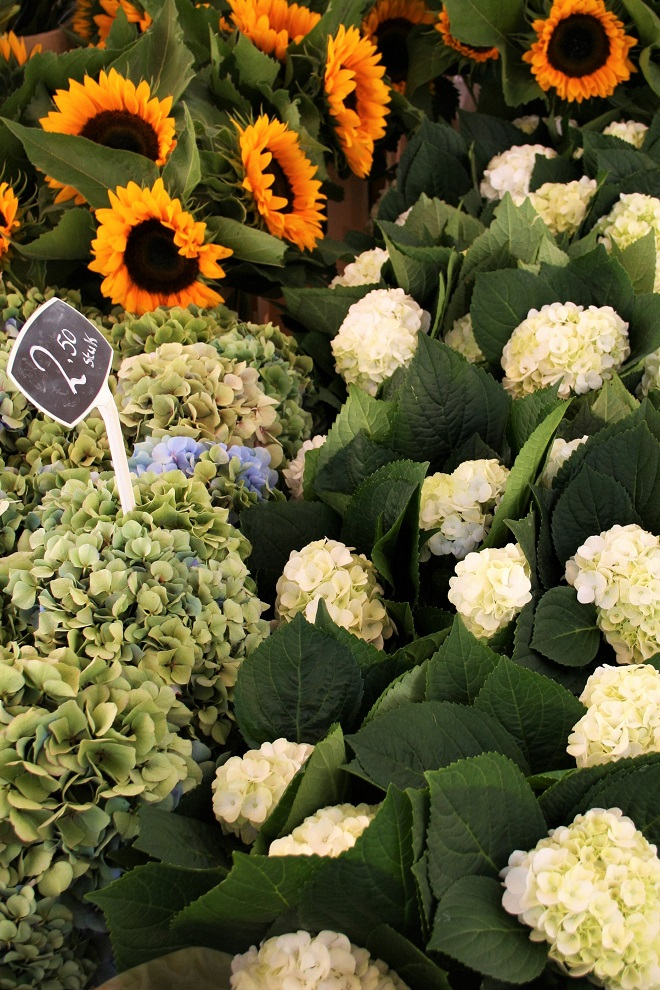 Hold on to summer: hydrangea, sunflowers - Cloverhome.nl