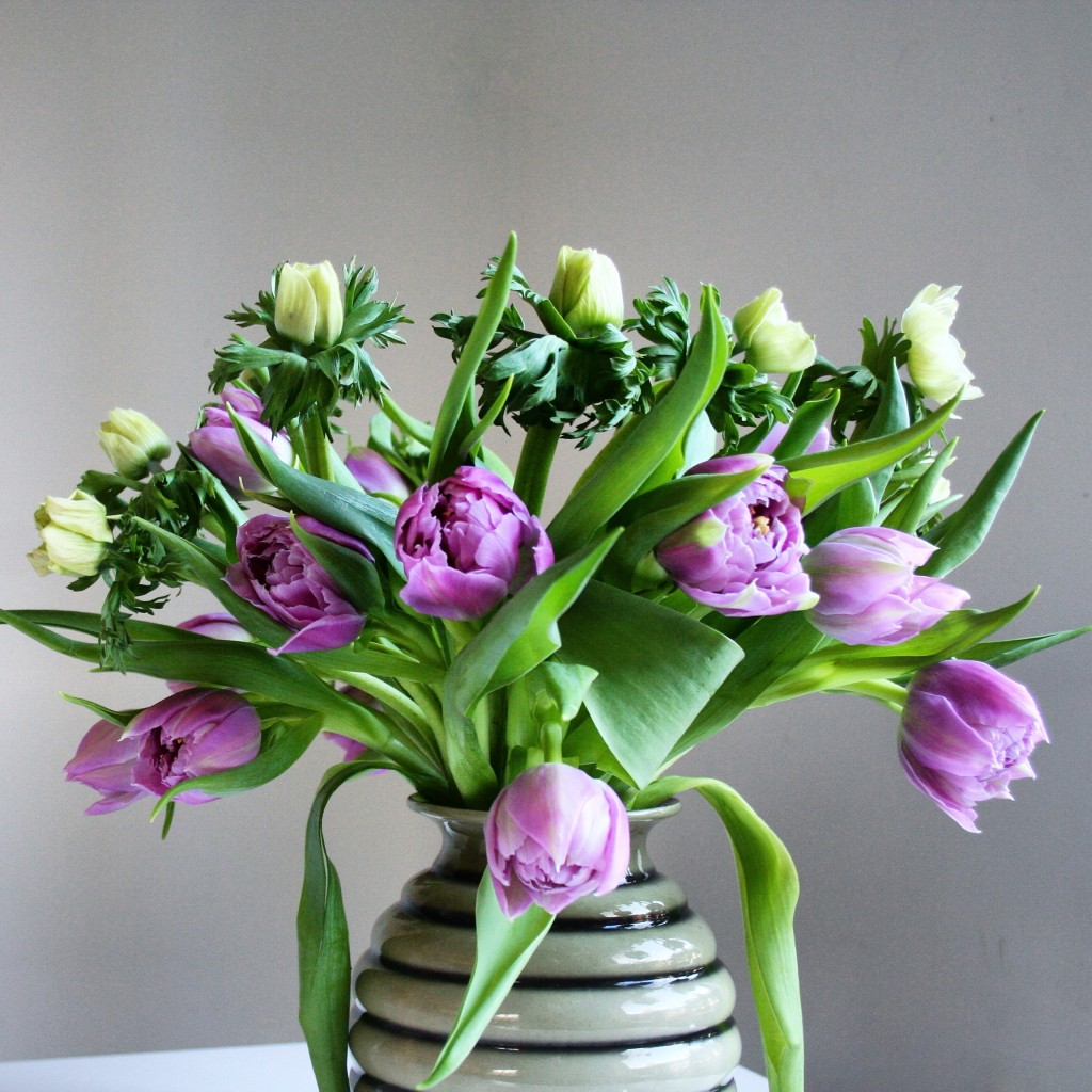 Best flowers for Valentine's Day besides roses: tulips and anemones - Cloverhome.nl