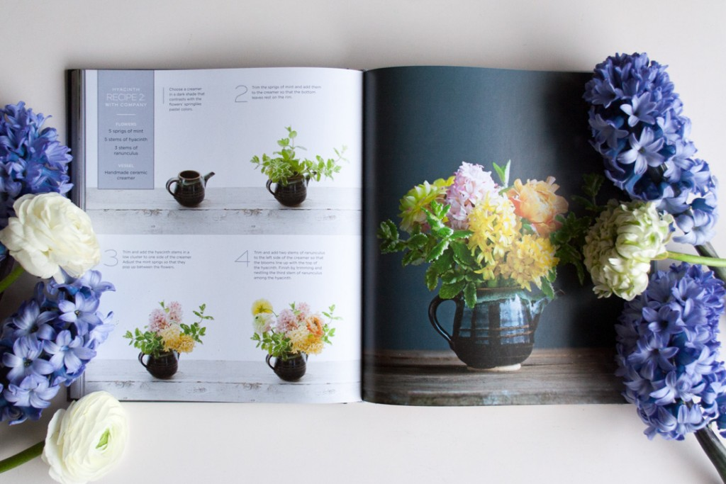 The Flower Recipe Book - Hyacinths with company