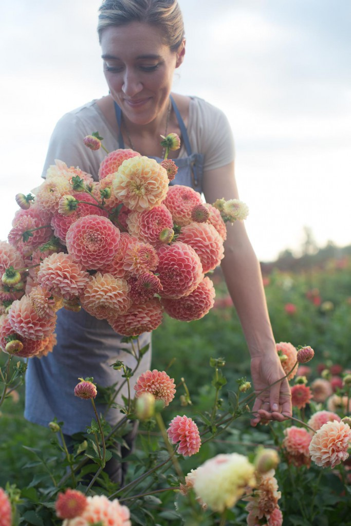 Floret Farm's new book, A Year in Flowers, is all about arranging flowers. It teaches readers how to make stunning bouquets using seasonal blooms. Learn more about this new book, or just enjoy the gorgeous photos from the book - Cloverhome.nl